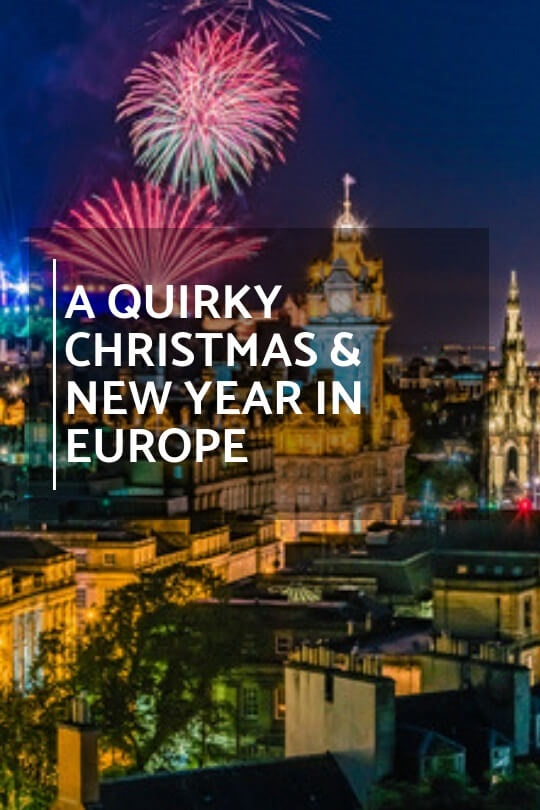 christmas and new year in europe