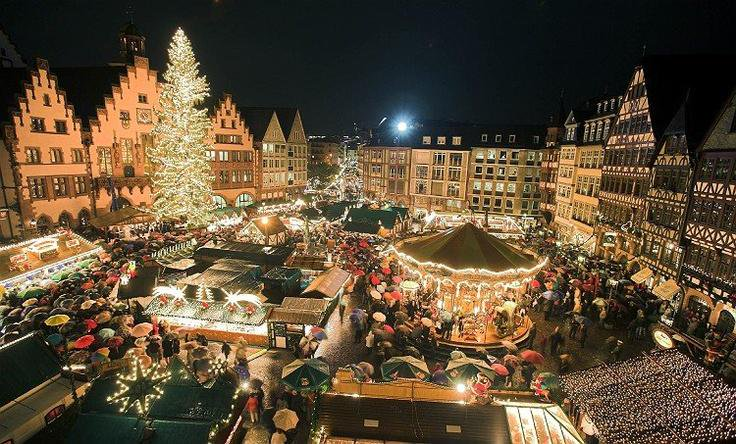 Christkindelsmarik market. Christmas markets in Europe