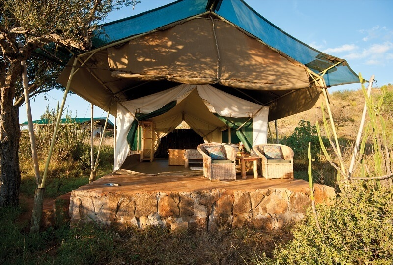 Laikipia Wilderness Camp tent