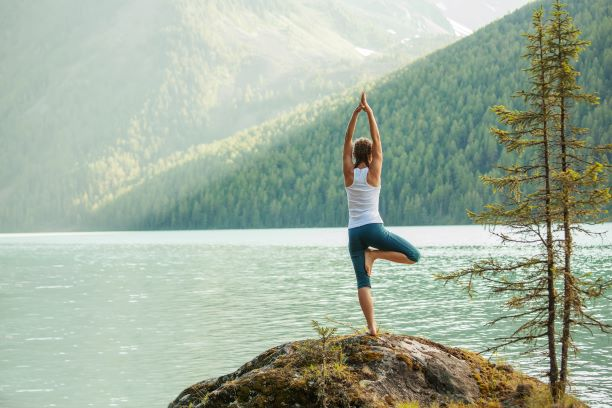 yoga in the wilderness