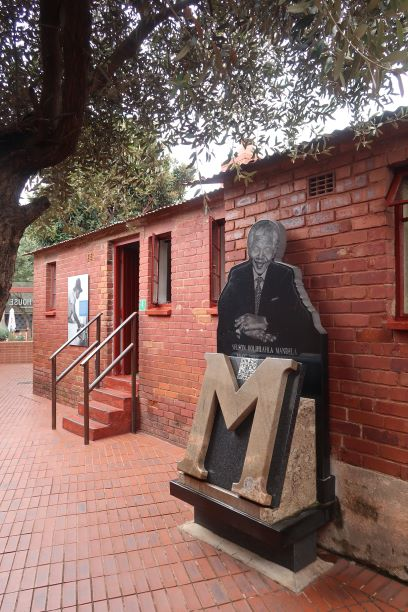 No. 8115 Vilakazi Street in Soweto, where Mandela moved with his wife Evelyn in 1946 MANDY RAMSDEN
